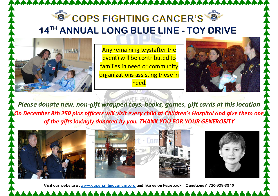 Cops Fighting Cancer – 14th Annual Long Blue Line – 2016