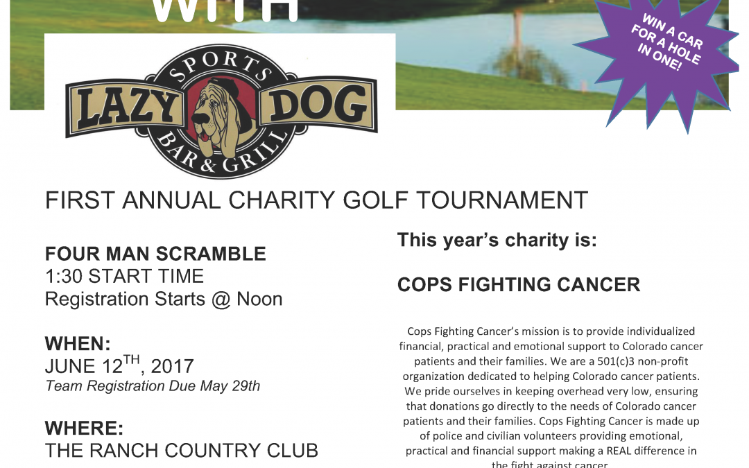 The Lazy Dog Charity Golf Tournament 2017